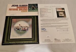 RARE  Mickey Mantle Arnold Palmer Jack Nicklaus Signed 1973 Golf Program JSA LOA