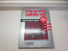 Do-It-Right maintenence car repair manual for Nissan 1982-87 Sentra