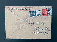 Brief Dienstpost Ukraine nach Wien