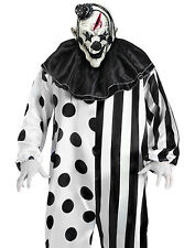 Killer Clown  Scary Horror Movie IT Mens Halloween Classic Party Costume STD