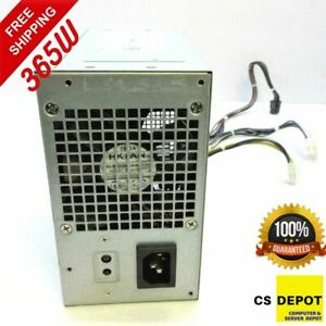 Dell 365W PSU 7VK45 for Optiplex XE2 3670 Precision T1700 MT HU365EM-00 7VK45