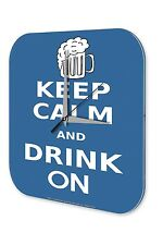 Orologio da parete  Detti Marke Mantenere la calma e bere più boccale di birra P