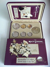 2008 RAM MAGIC PUDDING 6 COIN & MEDALLION BABY PROOF SET