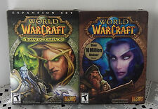 WORLD OF WARCRAFT (PARTIAL) & BURNING CRUSADE EXPANSION SET (COMPLETE)