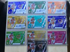 EDDIE JACKSON UNPARALLELED AUTOS /2 /3 /15 /49 BASE /15 /49 /199 /299 /499