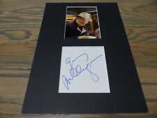 JAZZ GERRY MULLIGAN signed autograph 8x12 inch matted InPerson in Germany LOOK