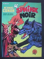 King CONAN  Le Sphinx Noir ARTIMA COLOR GÉANT 1984 .tbe