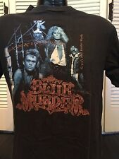 Vintage 89 Blue Murder Tour Shirt Sz L Classic Glam Rock 80's Metal King Kobra