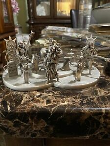"""Vtg 1995 Bob Olley Pewter """"Undead Band"""" PP562"""