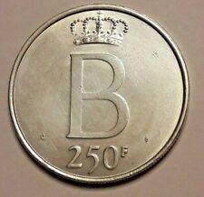 250 Francs, 250 Frank, 1976, Brussels Monnaies, Belgique FR <<==>> NL Belgïe