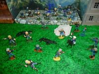 US CAVALRY   50-54 MM, DEAL -PLASTIC FIGURES-L@@K!!