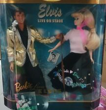 Barbie Mattel Barbie Loves Elvis Gift Set Collector Edition 96'