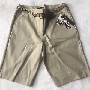 Women's DANA BUCHMAN SIGNATURE khaki shorts, 14
