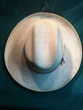 Vntg 1970s Palmoro Hats Legitimo Sahuayo Mich. Mexican Western Hat Size 6 3/4 S
