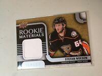 F50009 2015-16 Upper Deck Rookie Materials Jersey Stefan Noesen Ducks