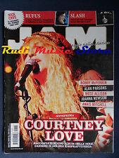Rivista  JAM 169/2010 Courtney Love Slash Rufus Nick Cave Alan Parsons  NO cd