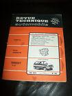 REVUE TECHNIQUE AUTOMOBILE n° 342 Fév 1975 RENAULT 5 LS