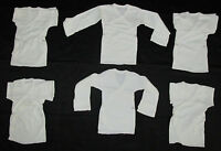3 to 12 pc lot Baby Long Sleeve Wrap Shirt with Mittens Cuff  Size 6 Month