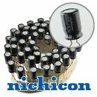 "10x Nichicon VZ 1000uF 6.3v 8mm Low-ESR Capacitors caps 105C 0.49"" Low Profile"