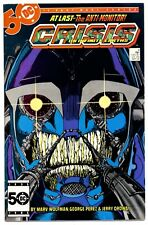 CRISIS ON INFINITE EARTHS #6(9/85)1:NEW WILDCAT/PEACEMAKER/ANTI-MONITOR(CGC IT)!