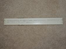 Vintage White Precision Sterling Slide Rule