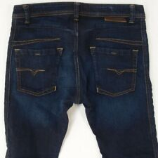 Mens Diesel DARRON SR020 Stretch Slim Tapered Blue Jeans W33 L32
