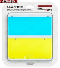 #21 Clear Blue & Yellow Cover Plate New Nintendo 3DS Official Nintendo Item