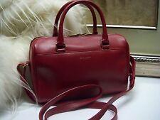 Authentic SAINT LAURENT Classic Duffle 6 Leather Bag