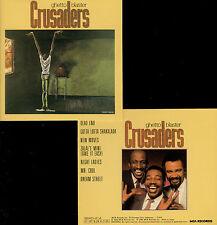 CRUSADERS  ghetto blaster  / CD MCA, JAPAN