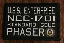 Star Trek USS Enterprise Phaser Morale Patch Military Tactical Army FLAG Badge