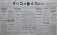 8-1930 August 3 ENDURANCE FLIERS DOWNED MYSTERY LANDING. CHINA YANGTSE RAIDS