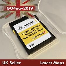 LATEST RENAULT TomTom Carminat LIVE V10.15 SD CARD EUROPE and UK MAP 2019 - 2020