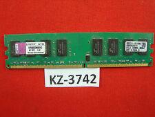 Kingston 2gb modulo 800mhz pc2-6400 ddr2 cl6 DIMM kvr800d2n6k2/4g #kz-2342