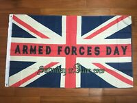 2020 UK Armed Forces Day Veteran Day Flag British Remembrance Military Solider