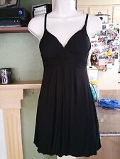Girls XXI Sun Dress/Shirt Padded Bra Black-Size S/P