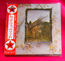 Led Zeppelin IV SHM MINI LP CD JAPAN WPCR-13133 Led Zeppelin 4
