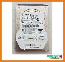"""Disco Duro Toshiba 250GB 2.5"""" 7200RPM Hdd Sata MK2561GSYN / HDD2F24 / 625239-001"""