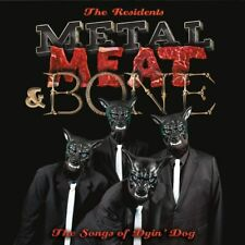 THE RESIDENTS Metal, Meat & Bone The Songs Of Dyin' Dog  2 CD SET NEW (8THJULY)