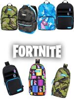 Licensed FORTNITE Loot Llama Pinat CAMO Lunch Messenger Sling Crossbody Backpack