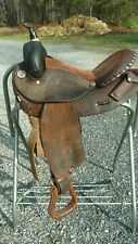 "15"" Circle Y Barrel Saddle"