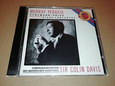 MURRAY PERAHIA * SCHUMANN / GRIEG PIANO CONCERTOS * SIR COLIN DAVIS CD ALBUM