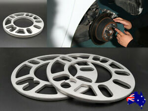 5 mm Wheel Spacers Universal Multi-Fit 4/5 studs 2PCS for BMW Ford Audi Honda