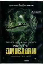 Proyecto dinosaurio (DVD Nuevo)