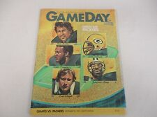 SEP 20 1982 NEW YORK GIANTS vs GREEN BAY PACKERS GAME DAY PROGRAM