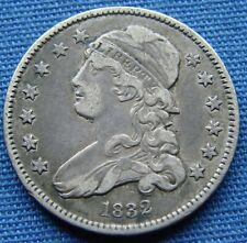 *VERY NICE LOOKING 1832 CAPPED BUST QUARTER - ESTATE FRESH*