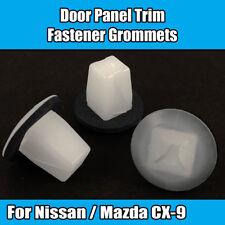 10Pcs mazda intérieur porte panneau garniture carte rivets fastener clips bleu