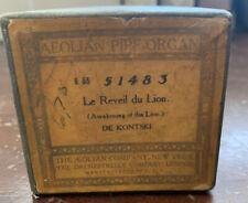 Aeolian Pipe-Organ Player Piano Roll 51483 Le Reveil Du Lion- De Kontski