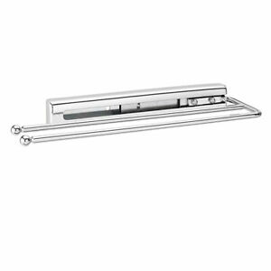 Rev-A-Shelf 563-51-C Under Cabinet Kitchen Prong Pull-Out Towel Bar, Chrome