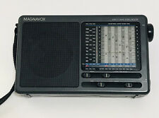 Magnavox D1875 11 Band World Receiver Radio With Storage / Carry Case