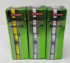 Srixon Soft Feel Tour Yellow & Pure White Golf Balls NEW (9 Balls Total)